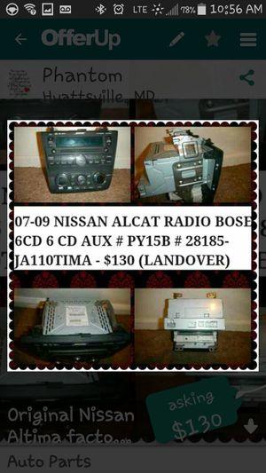 07-09 Nissan Altima factory radio Bose for Sale in Hyattsville, MD