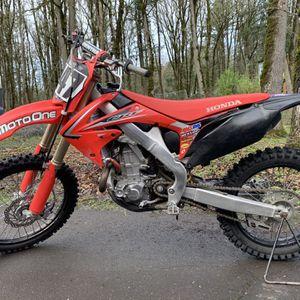 2011 Honda CRF 450 for Sale in Beavercreek, OR