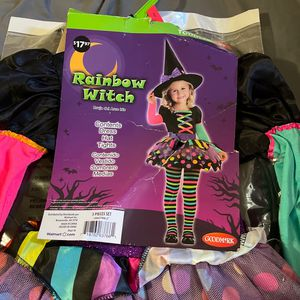 Toddle Costume Rainbow Witch, Size 2. for Sale in Ontario, CA