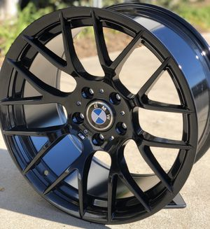 "Brand new 18"" BMW style wheels 5x120 all 4 for Sale in Santa Fe Springs, CA"