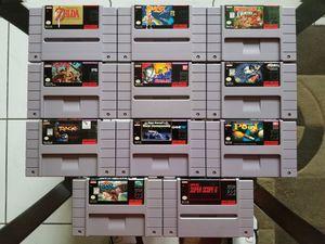 Super Nintendo Games for Sale in Pembroke Pines, FL