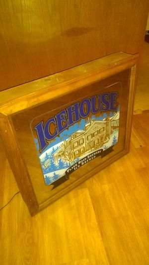 Icehouse shadow mirror for Sale in Rouses Point, NY
