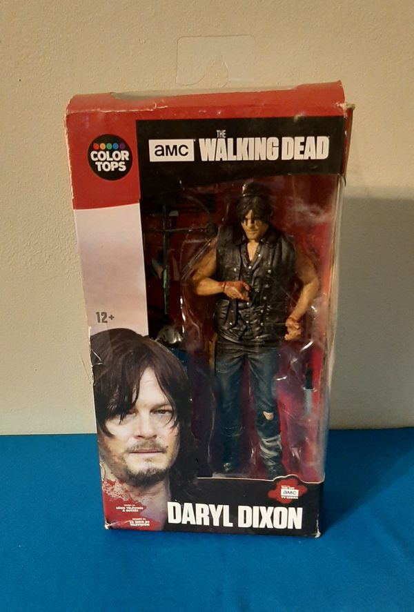 """McFarlane Toys The Walking Dead TV Daryl Dixon 7"""" Collectible Action Figure."""