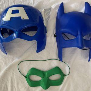Bundle Of 3 Superhero Masks for Sale in Poway, CA