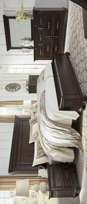 🧿SAMEDAY DELIVERY 🧿SPECIAL] Brynhurst Dark Brown Storage Bedroom Set for Sale in Columbia, MD
