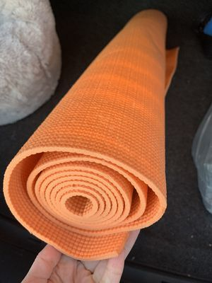 Orange Yoga Mat for Sale in Lisle, IL