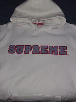 Supreme white logo hoodie for Sale in Arlington, VA