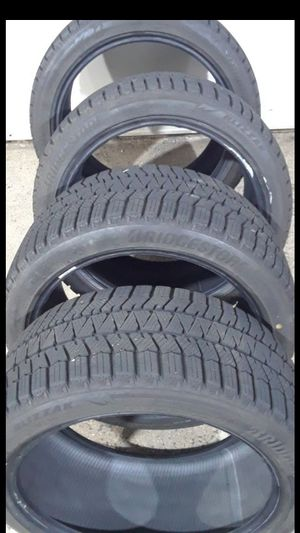 Newer Bridgestone Blizzak ws90 245/40R18 for Sale in Fairfax, VA