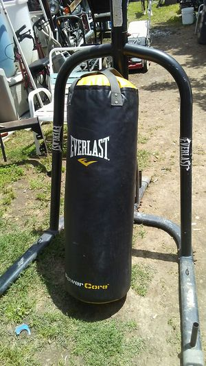 Punching bag also speed bag for Sale in Sacramento, CA