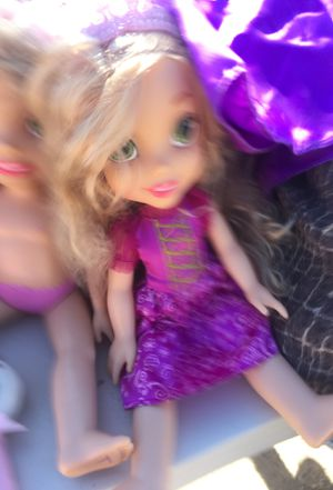 Rupunzel doll comes with Childress dress for Sale in Tucson, AZ
