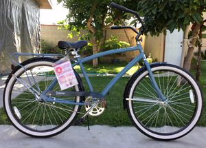 """Huffy Mens Nassau 26"""" Cruiser Bike- Blue for Sale in Irwindale, CA"""