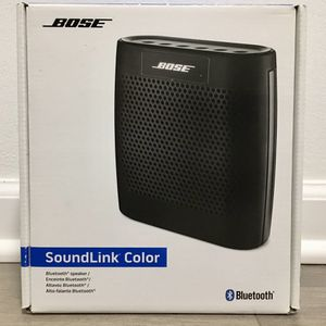 100% New never open it Bose SoundLink Color Bluetooth Speaker Shipping Available for Sale in Des Plaines, IL