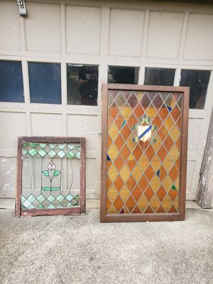 Vintage Antique Leaded Stained Glass Windows for Sale in Parma, OH