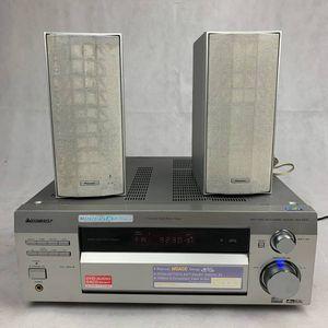 Pioneer VSX-D812 Receiver w/ 2 Speakers for Sale in Garden Grove, CA