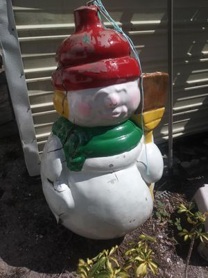 Snowman for Sale in St. Petersburg, FL