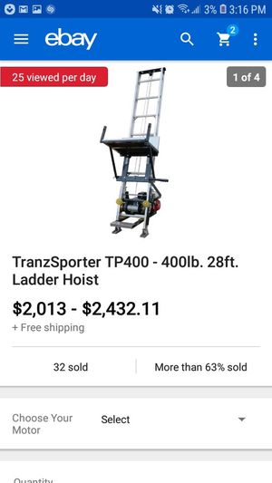 Elevator ladder for Sale in Riverdale, GA