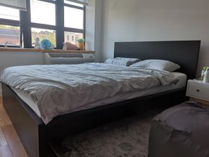 IKEA bed frame + mattress for Sale in New York, NY