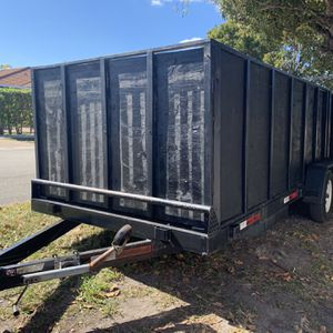 18 Ft Utility Trailer 4 Wheels for Sale in Miami, FL