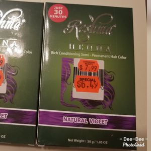 2 Boxes of Henna- violet color for Sale in Brook Park, OH