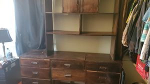FREE Wooden dresser and shelf for Sale in Portland, OR