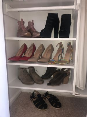 Various Designer Shoes - Size 8/9 for Sale in Gaithersburg, MD