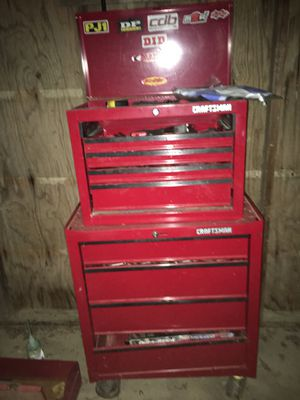 Craftsman box with tools for Sale in Waynesville, MO