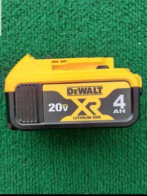 Dewalt 4 amp battery price is firm Precio firme for Sale in Industry, CA