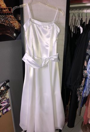Flower girl dress 18/ baptism/ communion for Sale in Phoenix, AZ