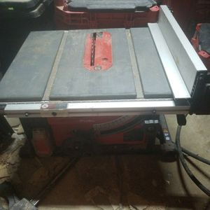 Milwaukee Table Saw for Sale in Aurora, CO