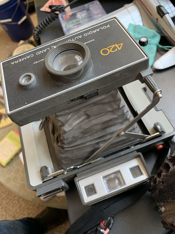 Cool Old Polaroid Camera