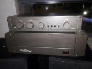 HAFLER AMPLIFIER AND PRE-AMPLIFIER for Sale in Valley Center, CA