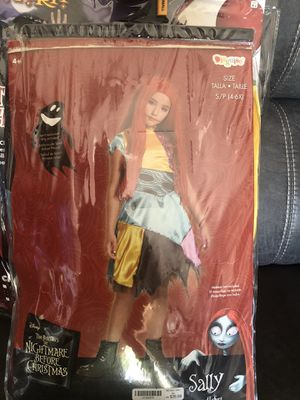 Kid Halloween costume Sally nightmare before Christmas for Sale in Spring Hill, FL