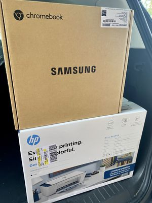 Samsung Chromebook Laptop & HP Printer Bundle for Sale in Fairfield, OH