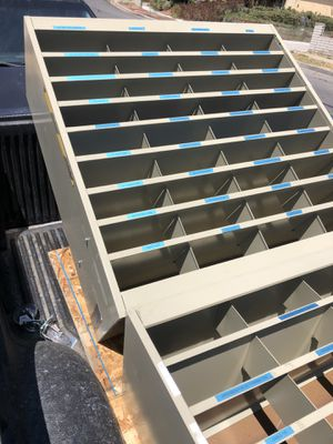 2 used metal shelvings for Sale in Bonita, CA
