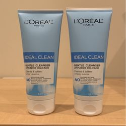 Loreal Ideal Clean gentle cleanser 6.8 oz: 2/$5 for Sale in Alexandria,  VA