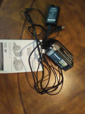 Panasonic camcorder for Sale in Greenwood, AR
