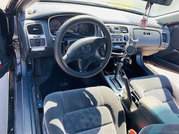 2002 HONDA ACCORD 3.0 V-tech V6 automatic 183,000 well driven & mostly highway miles 18inch bentchi chrome wheels , 85% bravirus 3 245/40/R18 y xl ti