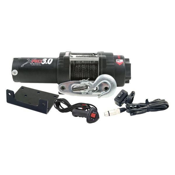 XRC 3,000 lb. synthetic rope winch