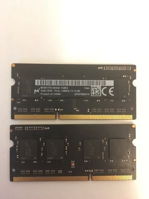 Two 4gb Mac Ram for Sale in Los Angeles, CA