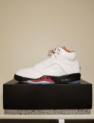 Jordan Fire Red 5 SIZE 11 12 13 14 Available Silver Tongue 2020 *BRAND NEW* for Sale in Kissimmee, FL