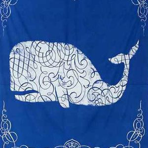 Large Tapestry Wall Hanging Whale Urban Outfitters for Sale in Mountain Lakes, NJ