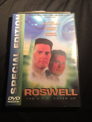 1994 Special Edition ROSWELL The U.F.O. Cover Up - DVD Used Condition for Sale in La Habra, CA