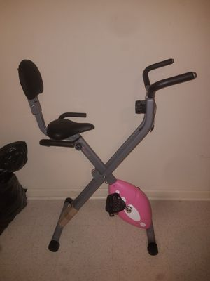 Folding recumbent bike exercise bike for Sale in Washington, DC