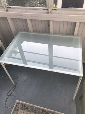 Glass kitchen table for Sale in Hartford, CT