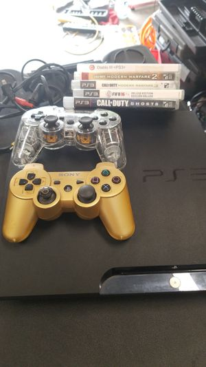 PS3 console, controllers and games for Sale in Tampa, FL