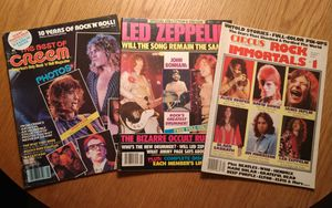 Vintage Rock magazines for Sale in Charlotte, NC