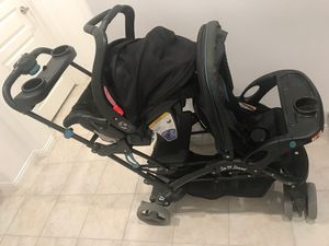 BabyTrend Sit n Stand Double Stroller for Sale in Orange, CA