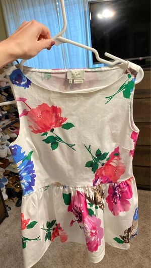Kate spade peplum top size 0 for Sale in Meridian, MS