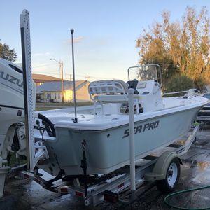 2018 Sea Pro 208 with 2018 200hp Suzuki for Sale in Wauchula, FL