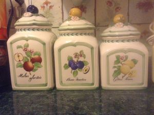 Storage Jars (set of 3) for Sale in New Rochelle, NY
